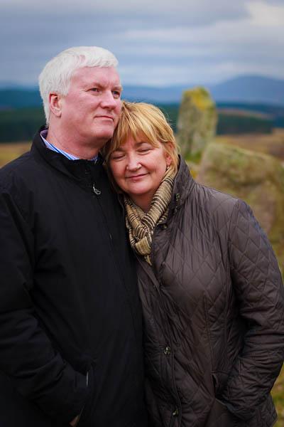 Ken and Linda at Eslie circle